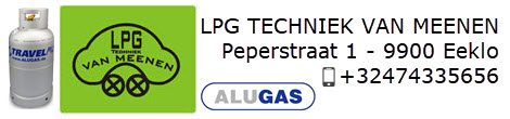 LPG gasfles webshop